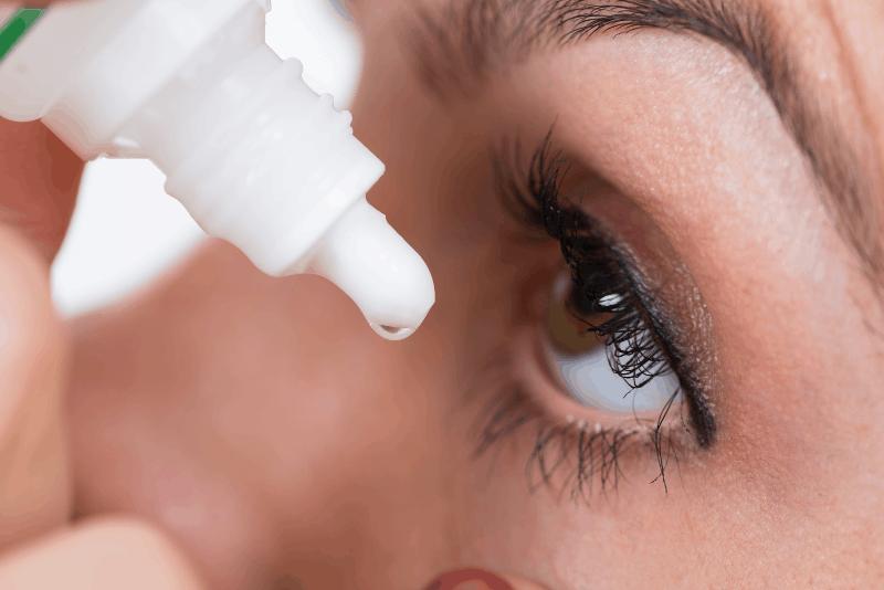 Синдром на сухо око