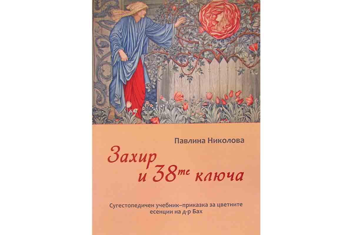 """Баховият консултант Павлина Николова издаде книга """"Захир и 38-те ключа"""""""