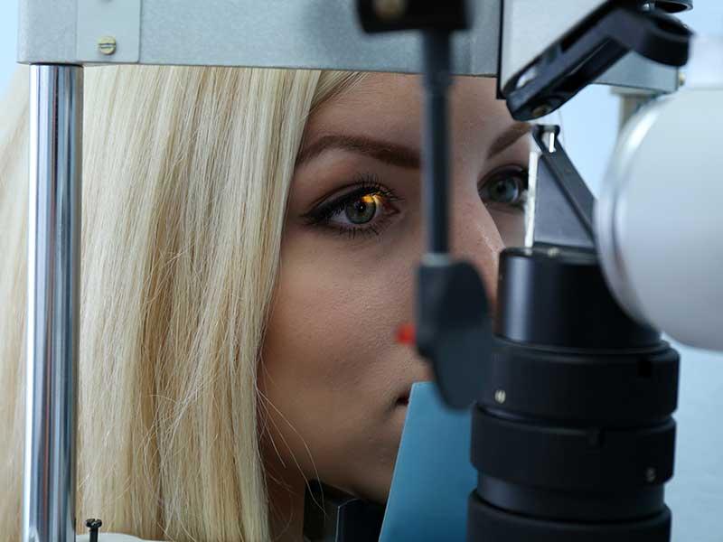 Очна токсоплазмоза